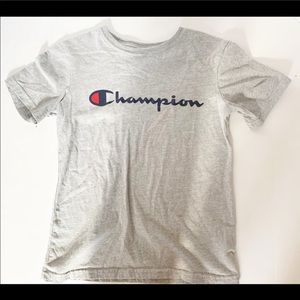 Champion t-shirt size medium grey